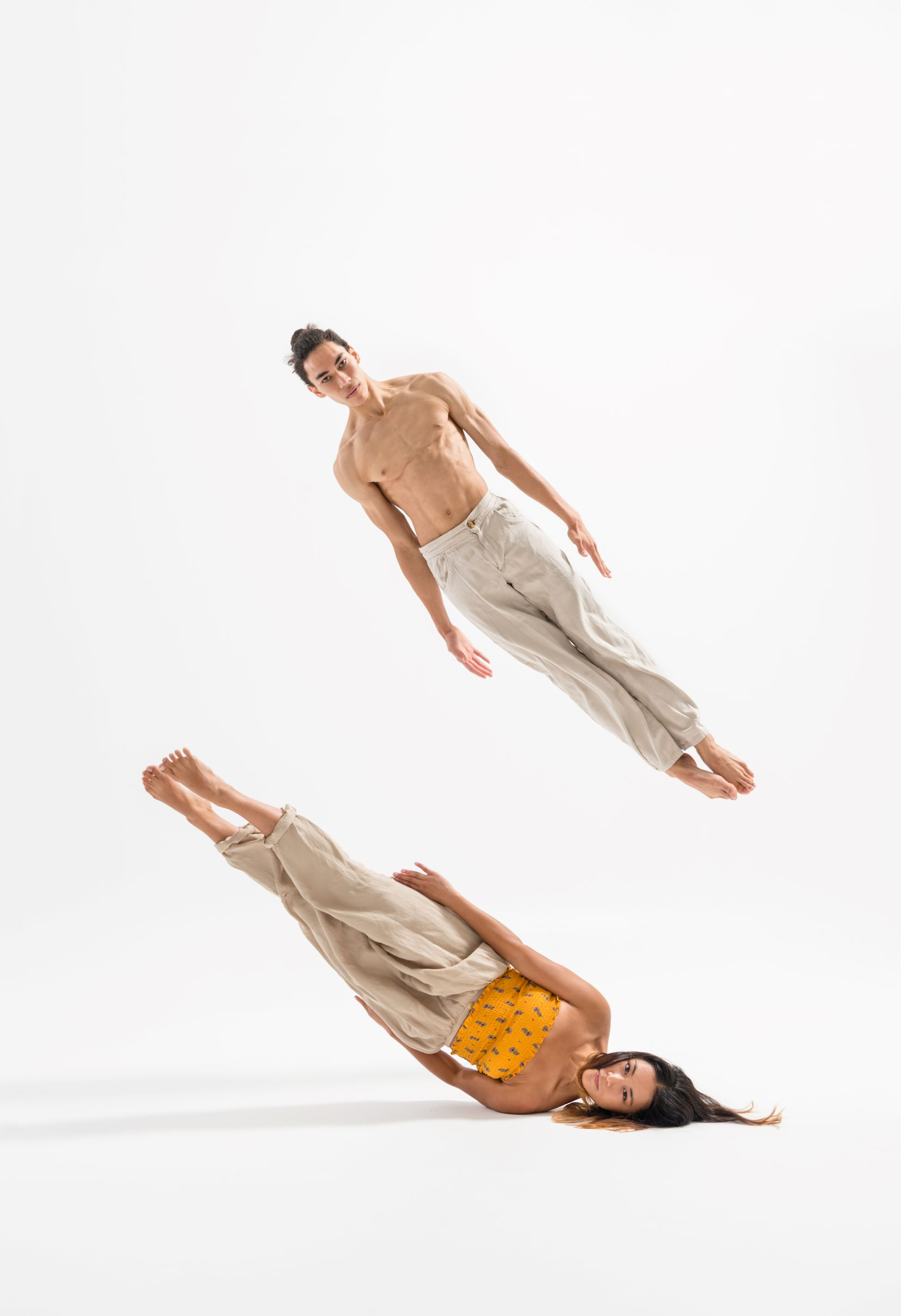 NZSD 2018 contemporary dance students Jareen Wee & Chris Clegg