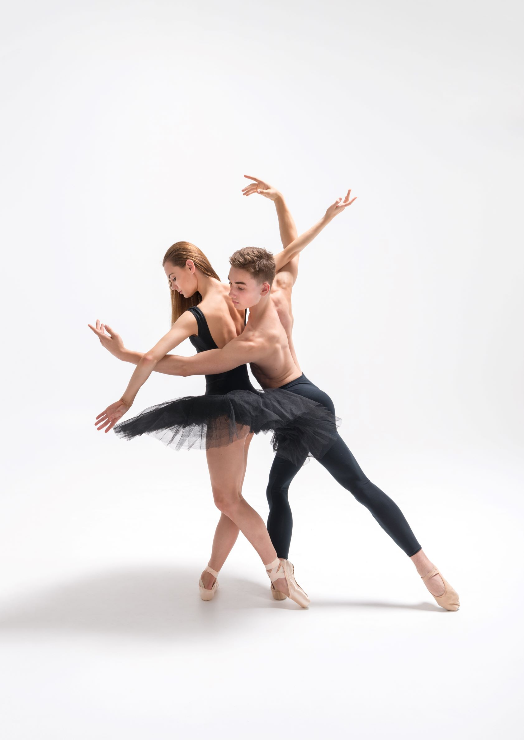 NZSD 2018 classical ballet students Cadence Barrack & Louis Ahlers
