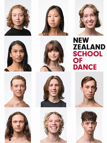 New Zealand School of Dance 2020 3rd Yr Contemporary Dance Students
